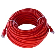 Shaxon 50' Molded Category 6 RJ45/RJ45 Patch Cord, Red