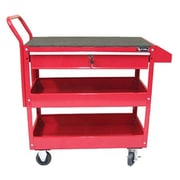 Excel 36.8'' Metal Tool Cart; Red