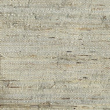 Inspired By Color™ Grasscloth and Natural Raw Grasscloth Wallpaper, Blue