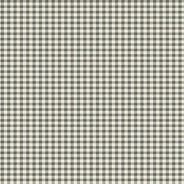 Inspired By Color™ Country & Lodge Buffalo Check Wallpaper, Black With White