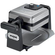 Waring Pro® 4 Slice Square Belgian Waffle Maker, Stainless Steel/Black
