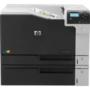 HP® LaserJet Enterprise M750dn Wired High-Volume Color Laser Printer, Black/Gray