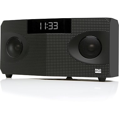 Palo Alto Rhombus Bluetooth Wireless 24 Bit Speaker System, Black
