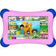 """Visual Land Prestige Pro FamTab, 7"""" Tablet, 8 GB, Android Jelly Bean, Wi-Fi, Pink"""