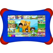 Visual Land® Prestige Pro FamTab 7 8GB Android 4.2 Tablet With Safety Bumper, Royal Blue