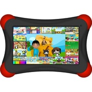 Visual Land® Prestige Pro FamTab 7 8GB Android 4.2 Tablet With Safety Bumper, Black