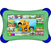 Visual Land® Prestige Pro FamTab 7 8GB Android 4.2 Tablet With Safety Bumper, Green