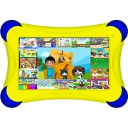 Visual Land® Prestige Pro FamTab 7 8GB Android 4.2 Tablet With Safety Bumper, Yellow