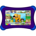 Visual Land® Prestige Pro FamTab 7in. 8GB Android 4.2 Tablet With Safety Bumper, Purple