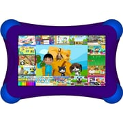 Visual Land® Prestige Pro FamTab 7 8GB Android 4.2 Tablet With Safety Bumper, Purple