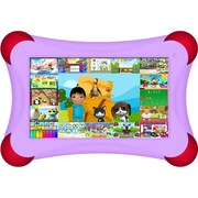Visual Land® Prestige Pro FamTab 7 8GB Android 4.2 Tablet With Safety Bumper, Lilac