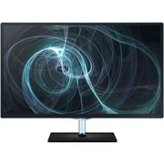 Samsung 23.6 Full HD Simple LED LCD Monitor With Tilt Stand, High Glossy Black/Blue ToC