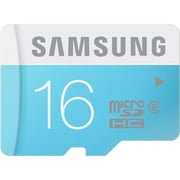 Samsung 16GB microSDHC (microSecure Digital High Capacity) Class 6 Flash Memory Card With Adapter