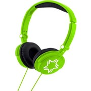 Lexibook® HP010 Wired Stereo Headphones With Sound Limit For Kids Ear Protection, Bright Green