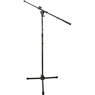 Hosa Technology® Tripod Microphone Stand With Telescoping Boom, Black