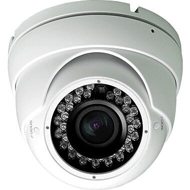 KT&C KPC-ND721NUV17W 750TVL Board Mount Outdoor Color Dome Surveillance Camera, White
