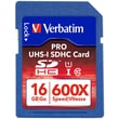 Verbatim® Pro 4GB SDHC (Secure Digital High Capacity) Class 10/UHS-I Flash Memory Card