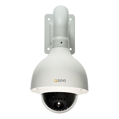 Q-See® QD6523ZH 650TVL Compatible Pan-Tilt-Zoom Indoor/Outdoor Color Surveillance Camera