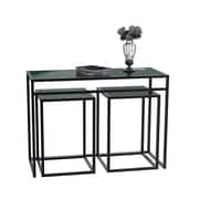 "Convenience Concepts Accent Table 30"" Metal & Glass"