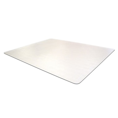 Floortex® Computex® Anti-Static Advantagemat PVC Chairmat, 48in. x 60in., Clear