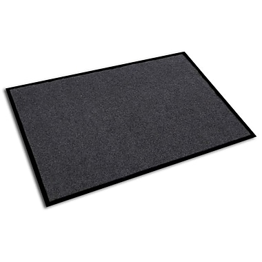 FloorTex Doortex Plush Entrance Mat, Granite (48