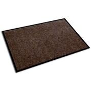 FloorTex Ecotex Plush Polypropylene Entrance Mat 36 x 24, Walnut