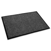"FloorTex Ecotex Polypropylene Entrance Mat 36"" x 24"", Charcoal"