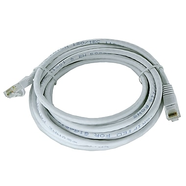 Shaxon UL724M814WT-6FB 14' CAT-6 Patch Cord, White