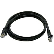 Shaxon UL724M803BK-1FB 3' CAT-6 Patch Cord, Black