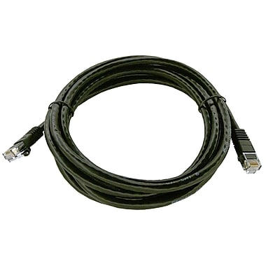 Shaxon UL724M807BK-1FB 7' CAT-6 Patch Cord, Black