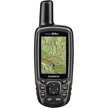 Garmin™ GPSMAP® 64st GPS/GLONASS Receiver With TOPO U.S. Map/BirdsEye Satellite