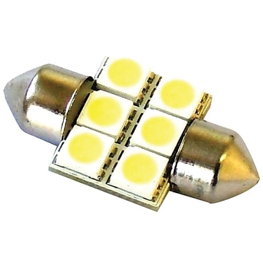 Race Sport 31 mm 5050 6-Chip LED Bulb, White
