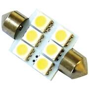 Race Sport 36 mm 5050 9-Chip LED Bulb, White