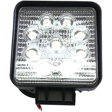 Race Sport 4in. 27 W Square 1755 Lumens Hi-Power LED Spot Light