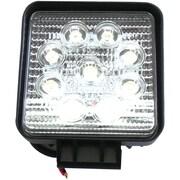 """Race Sport 4"""" 27 W Square 1755 Lumens Hi-Power LED Spot Light"""