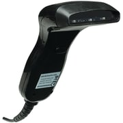 Manhattan ICI401517 Handheld CCD USB Barcode Scanner, Black