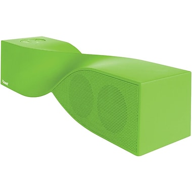 iSound® ISOUND-5400 Twist Rechargeable Portable Bluetooth Speaker W/Speakerphone, Green