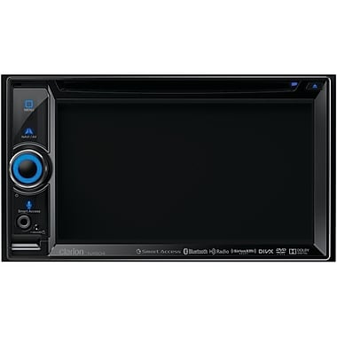Clarion® NX604 6.2in. Dual DIN DVD Multimedia Station With Built-in Navigation/Smart Access
