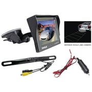 "Pyle® audio PLCM4700 4.7"" Window Suction Mount TFT/LCD Monitor With Rear View Backup Color Camera"