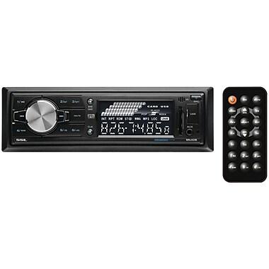 SSL ML42B Single DIN In-Dash Mechless Digital Media AM/FM Receiver W/Bluetooth/USB & SD Card Ports