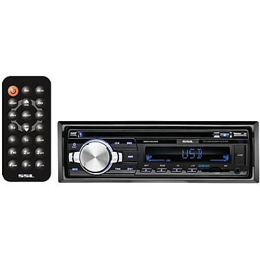 SSL SDC24USA Single DIN In-Dash MP3/CD/AM/FM Receiver With USB & SD Card Ports