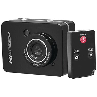 Pyle® Sport PSCHD60 12 MP Full HD Action Cameras With 2.4in. Touchscreen
