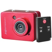 Pyle® Sport PSCHD60 12 MP Full HD Action Camera With 2.4 Touchscreen, Red