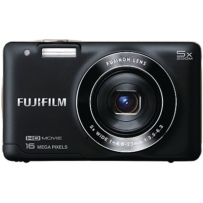 Offer Fuji FinePix JX660 Digital Camera, Black Before Special Offer Ends