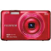 Fujifilm FinePix J Series 16 MP Digital Camera With 3 LCD Screen, Red