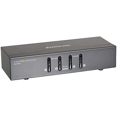 Iogear® 4 Port Vga Kvm Switch with Ps2/Usb