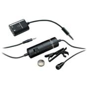 Audio-Technica® ATR-3350IS Omnidirectional Condenser Lavalier Microphone For Smartphones