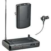 Audio-Technica ATHCR7100LT2 Lavalier VHF Wireless Microphone System, Black