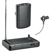 Audio-Technica ATHCR7100LT3 Lavalier VHF Wireless Microphone System, Black