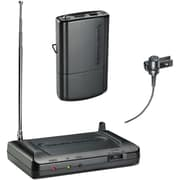 Audio-Technica ATHCR7100LT8 Lavalier VHF Wireless Microphone System, Black